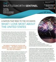 Shuttlesworth Sentinel July 2020
